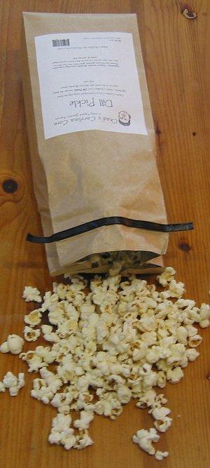Chad's Dill Pickle Popcorn
